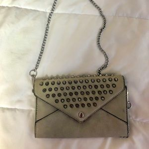 Handbags - Studded Gray Purse